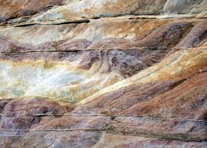 There is no evidence of erosion between these layers.
