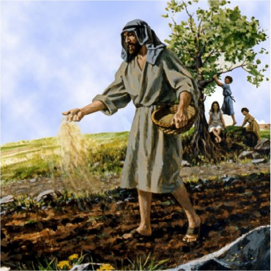 the parable of jesus Jesus explains why he teaches with parables and gives the parable of the sower to a multitude.
